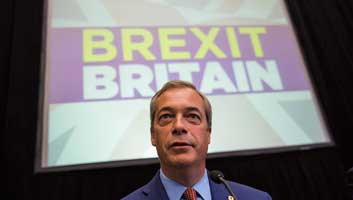 Farage accused Theresa May of breaking his promises