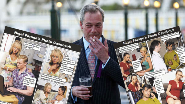 Nigel Farage Photo Casebook