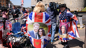 Royal Wedding fans in Windsor