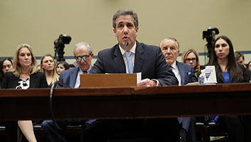 Michael Cohen gives evidence
