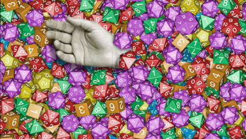 Role player dies under his dice collection