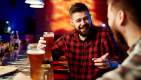 Thumbnail image for Man in pub sitting obediently at safe social distance actually just four pints from hugging strangers at the urinal