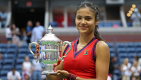 """Thumbnail image for Emma Raducanu dedicates US Open win to """"all the creepy middle-aged man-children out there"""""""