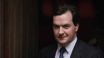 George Osborne fires guns on hoilday