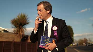 Nigel Farage to be reunited with testicle