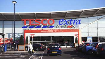 Tesco self service till