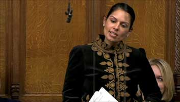 Priti Patel on employment figures