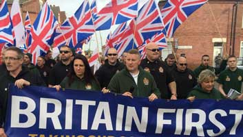 Britain First in support of British paedophiles