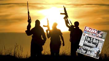 ISIS thanks the sun