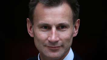 Jeremy Hunt Missing