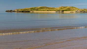 Tide coming in King Canute