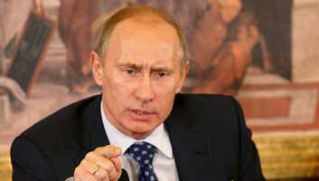 Putin mothballs British invasion plan