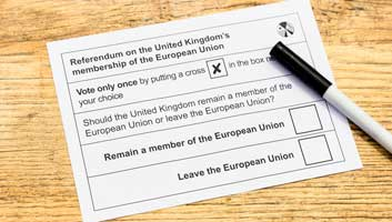 Referendum vote