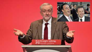 Jeremy Corbyn Ant and Dec