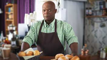 samuel jackson, bbc, cakes on a plain