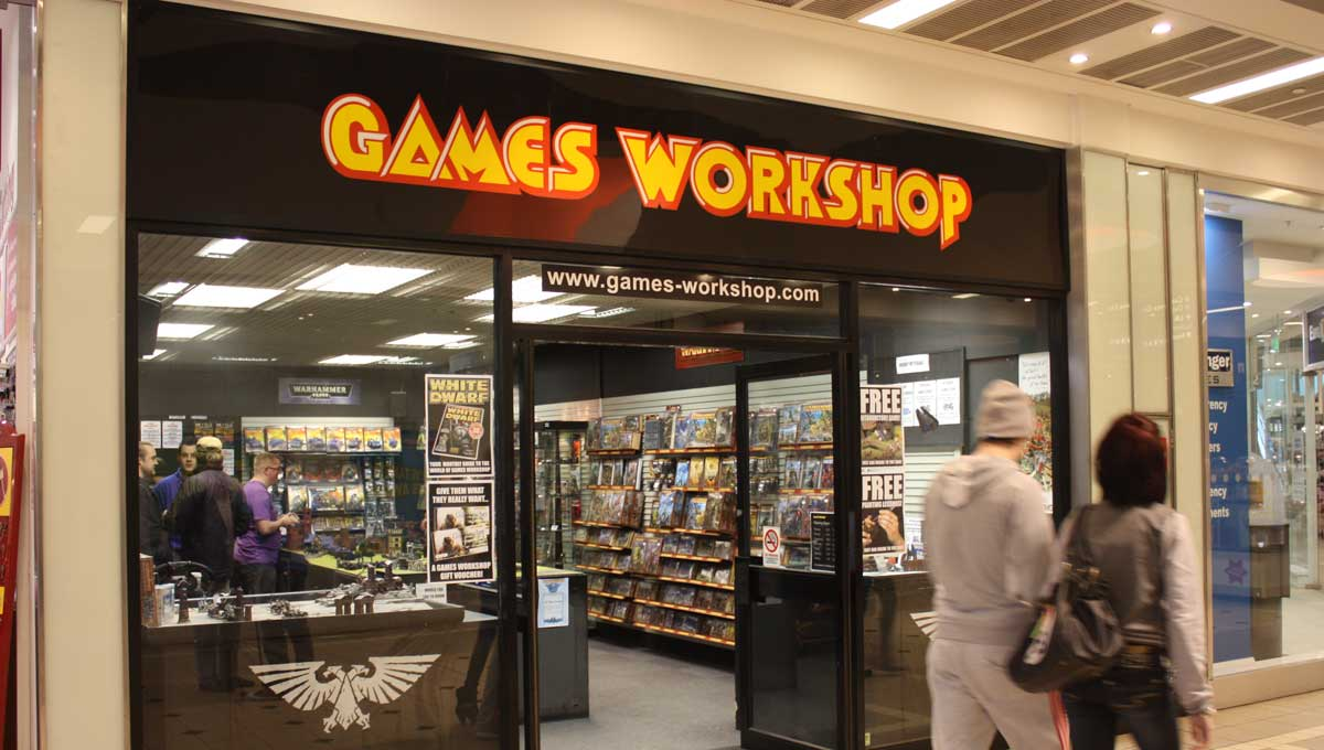 Games Workshop employee now qualified childminder | NewsThump