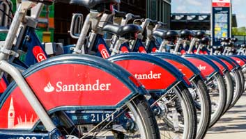 Santander Cycles not Boris Bikes