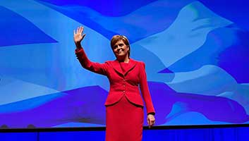 nicola sturgeon, SNP, bank holiday
