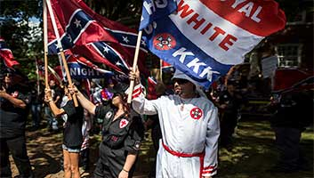KKK White supremacists