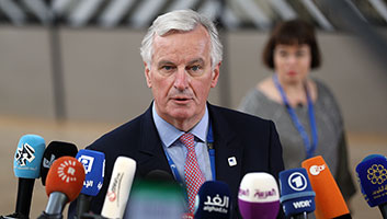 Michel Barnier, Norther Ireland