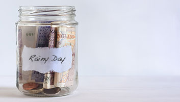 Migrants saving for a rainy day