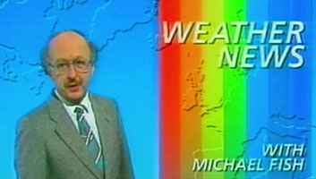 Michael Fish Hurricane warning