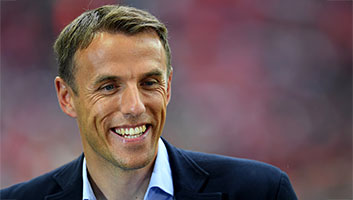 Phil Neville women's england manager