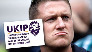 Tommy Robinson joins UKIP