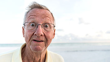 old man shocked to learn World War II is over