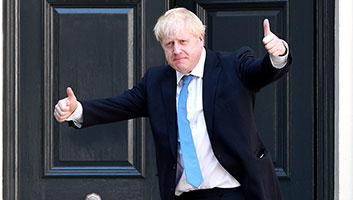 Boris Johnson gets UK out of EU