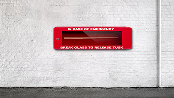 Emergency narwal tusk