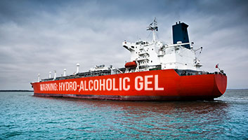 Oil Tanker with hand sanitiser hijacked