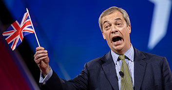 nigel Farage going off in his pants